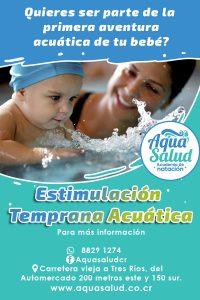Estimulación temprana acuatica